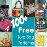 100+ Free Tote Bag Patterns Rounded Up in one place. The Sewing Loft