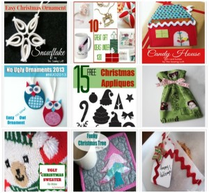 So many different free and easy projects for Christmas.