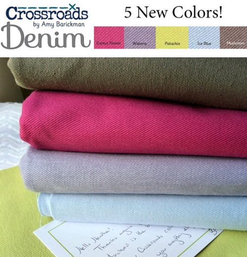 Crossroads Denim Fabric