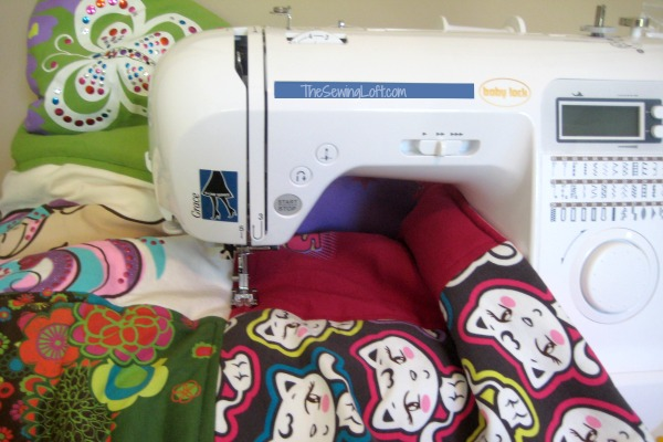 Finishing touches for a tshirt quilt.  Learn all the steps on The Sewing Loft.