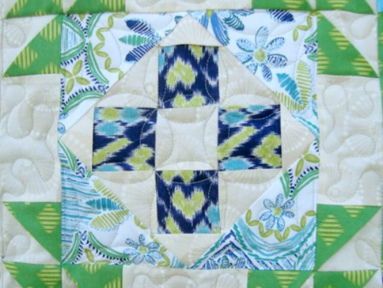 3-D Quilt Block Quick as a Fox The Sewing Loft