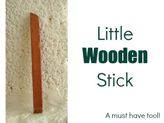 This little wooden stick can work magic in the sewing room! The Sewing Loft