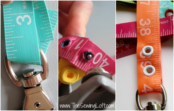 Tape Measure Lanyard | The Sewing Loft