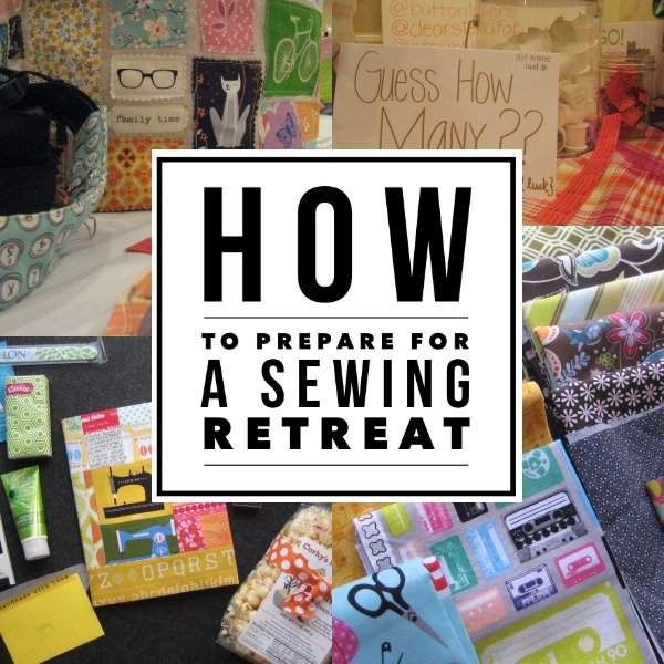 Sewing retreats can be so much fun but do you know what to bring? Check out these simple tips to help you be prepared. The Sewing Loft