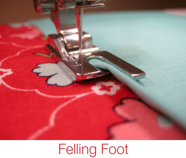 Learn how to make clean finished seams with the help of a felling foot. The Sewing Loft