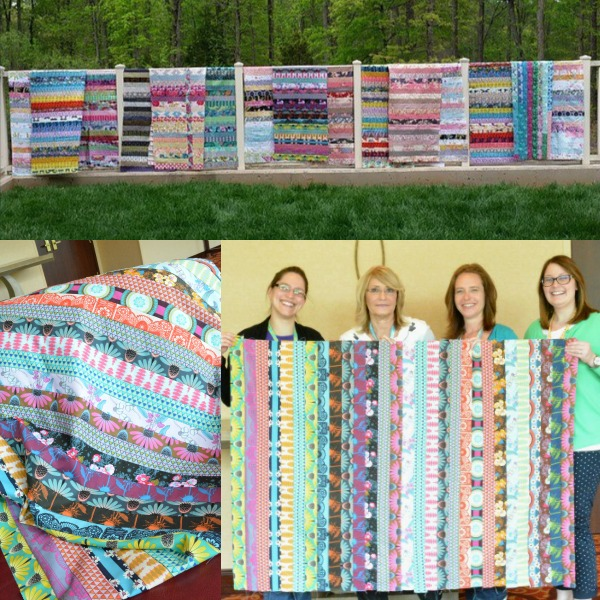 Jelly Roll Quilts from Sew South 2015