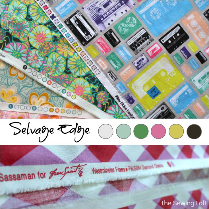 Sewing Term | Selvage Edge. The Sewing Loft