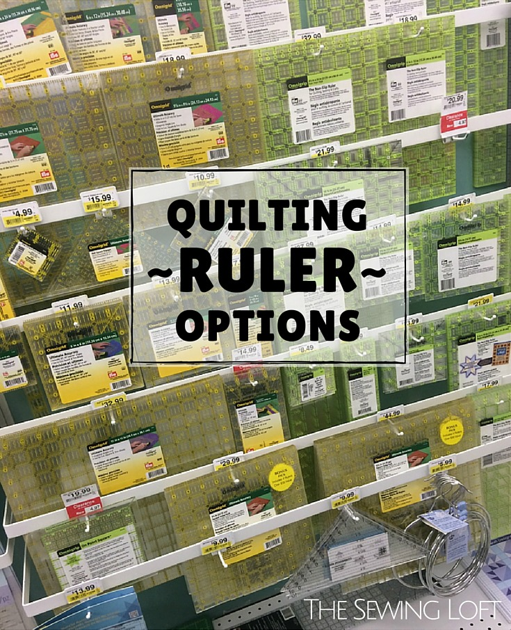 Do you ever get overwhelmed by all the quilting rulers on the market? This article breaks down all the must haves and why. The Sewing Loft