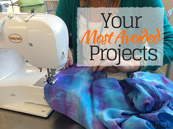 Learn how to tackle your most avoided sewing projects. The Sewing Loft