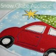 Stitch out a few of these snow globe appliques for a fun holiday tradition. Designs by The Sewing Loft