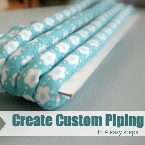 Learn how to enhance your sewing projects with custom Piping. The Sewing Loft