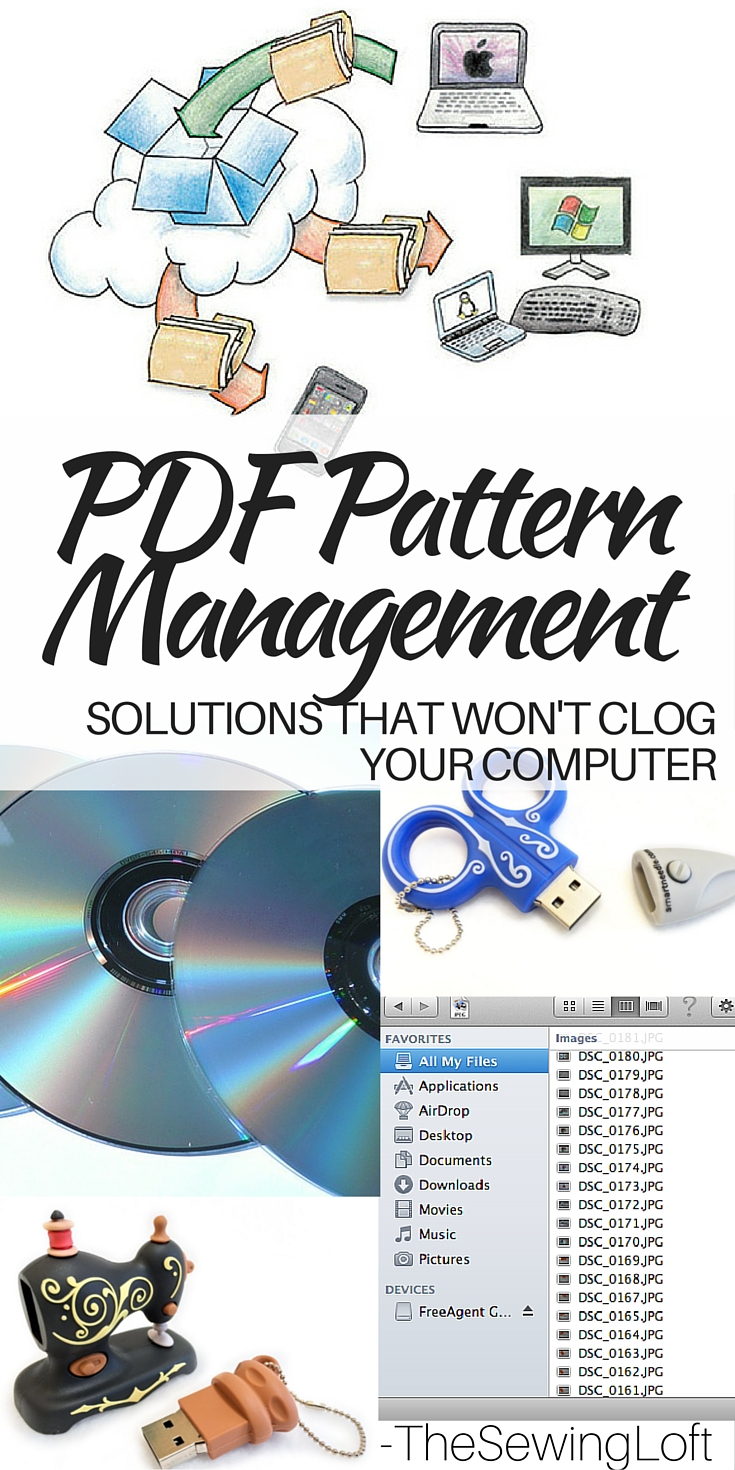 Instead of clogging up your computer with all those free pdf patterns, try one of these simple pdf storage solution ideas to keep everything neat and organized.