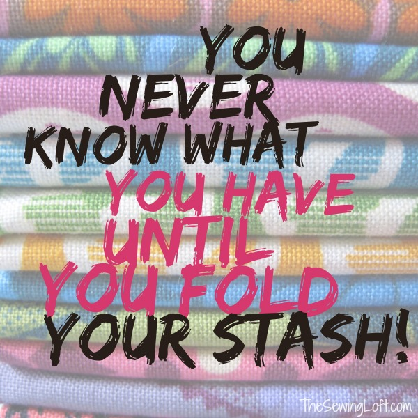 This post helped me get my fabric stash under control.