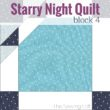 It's time for the next block in the Starry Night Quilt Sampler - the Cat's Tooth Quilt Block. Come join the fun and Increase your skill set with a block of the Month sewing series on The Sewing Loft.