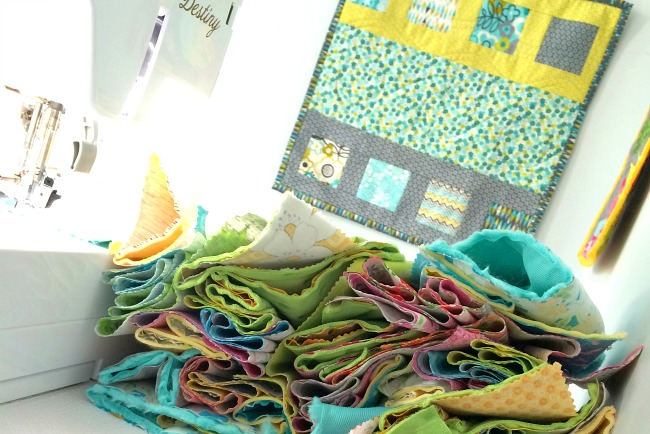 Assembly line sewing will help reduce your make time.