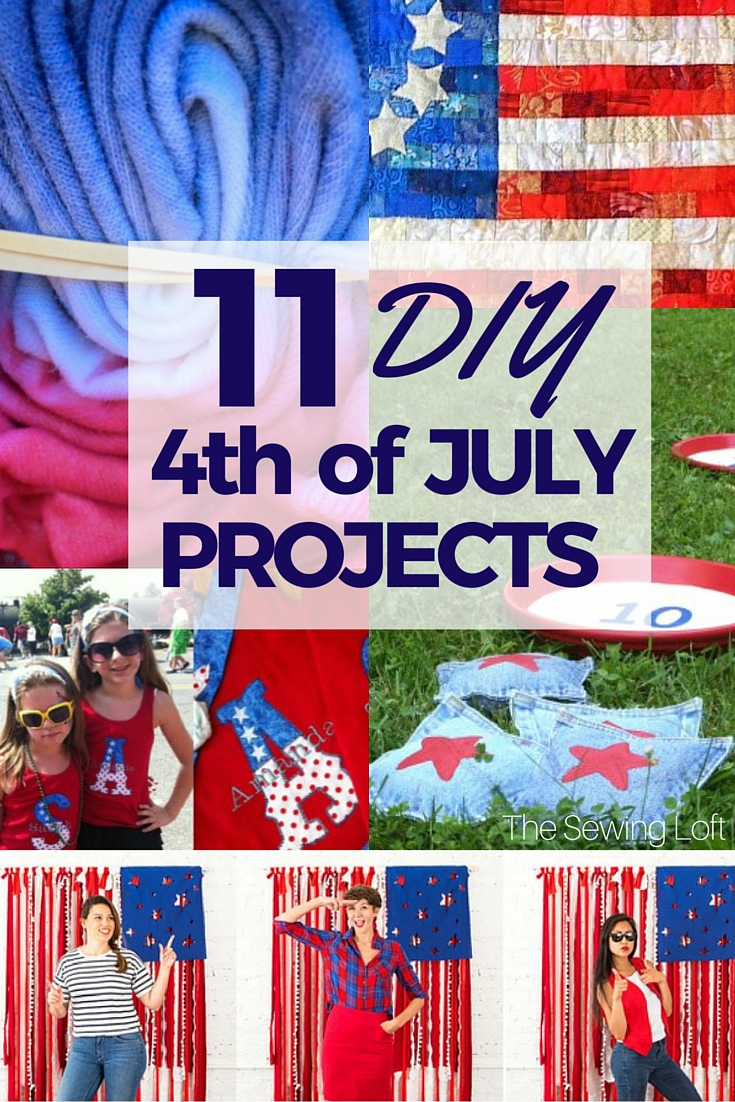 Enjoy your July 4th BBQ with these easy to make DIY party and home decor ideas.
