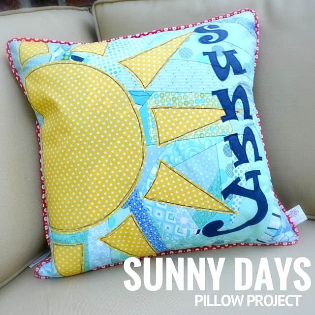 Sunny Days Pillow Feature