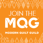 The Modern Quilt Guild is a proud sponsor of National Sewing Month 2016 with The Sewing Loft