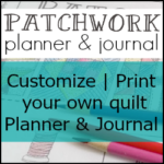 Patchwork Quilt Planner is a proud sponsor of National Sewing Month 2016 with The Sewing Loft