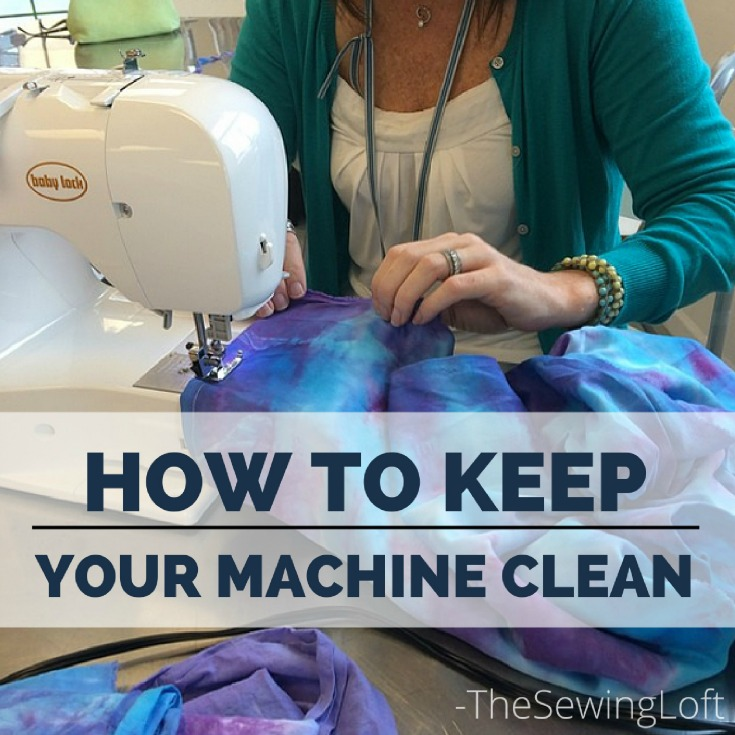 Take a few minutes to keep a clean sewing space. Then after the ball drops on 2017, you will be ready to dive into your next project.