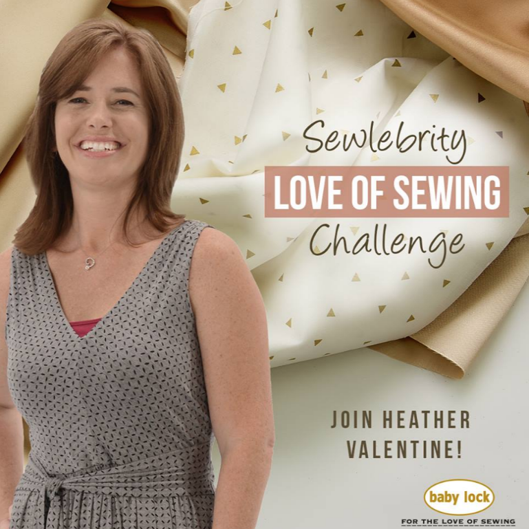 Join me on adventure during the Love of Sewing Challenge with Baby Lock. I'll be sharing great tips for machine embroidery and a free project.