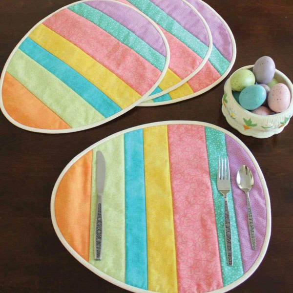 18 Easy Sewing Projects to help you celebrate the the Easter holiday this spring.