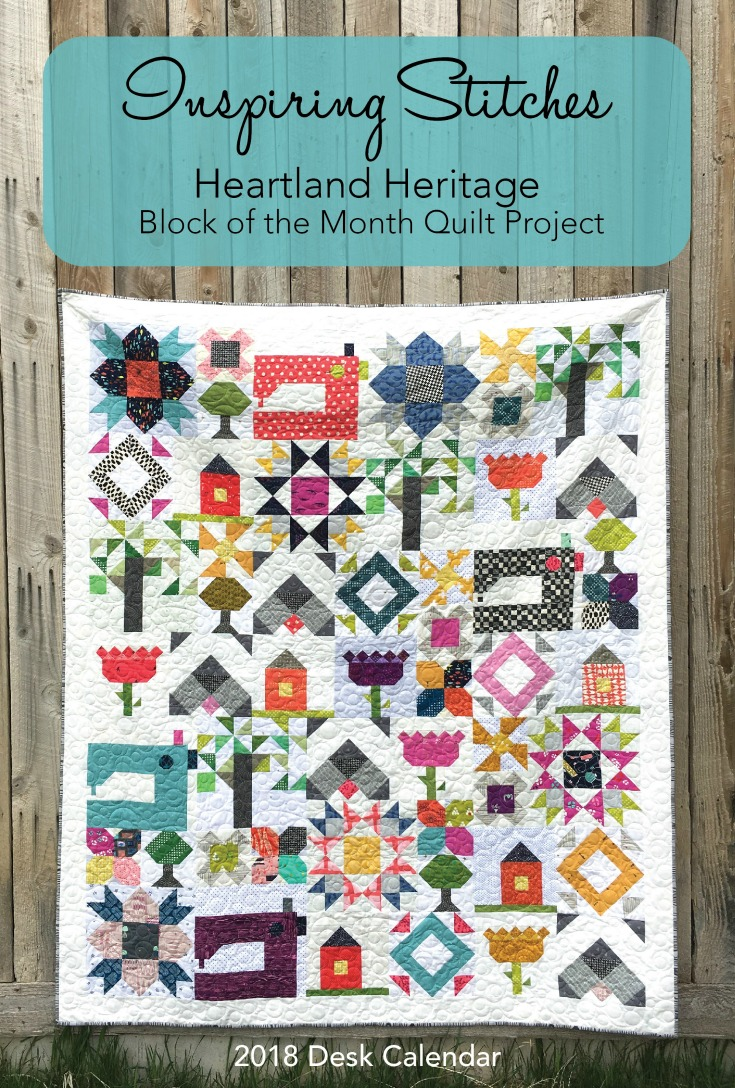 Check out the debut release of Heartland Heritage from Heather Valentine & Amy Ellis. The two have joined forces to create Inspiring Stitches.