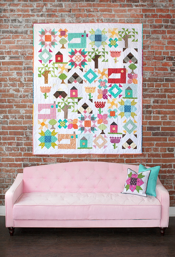 Have you heard the news? Heather Valentine & Amy Ellis have joined forces to create Inspiring Stitches. Check out their debut pattern Heartland Heritage.
