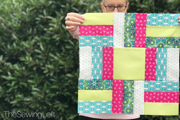 The new fabric line Flit and Bloom from Patty Young is bright and playful. The designs are perfect for quilts, apparel, and even a casserole carrier.