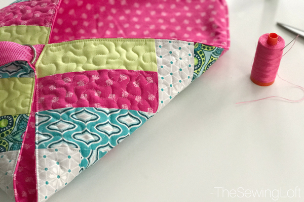 The new fabric line Flit & Bloom from Patty Young is bright and playful. The designs are perfect for quilts, apparel, and even a casserole carrier.