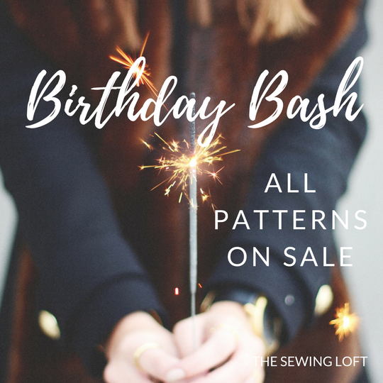 Birthday Bash Pattern Sale