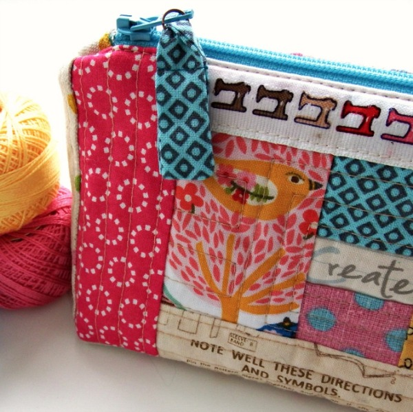 Up your sewing game with this easy to make fabric zipper pull tab.