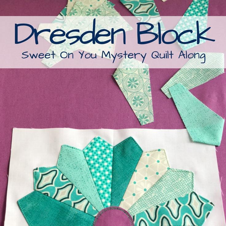 Darling Dresden Block   Free Quilt Block Pattern