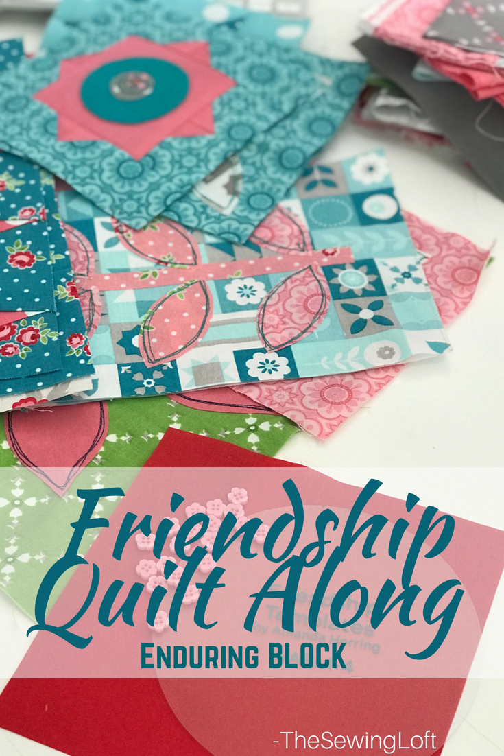Love the way the blocks are coming together on the Friendship Quilt Along. This free pattern is perfect for growing your skills at the machine.