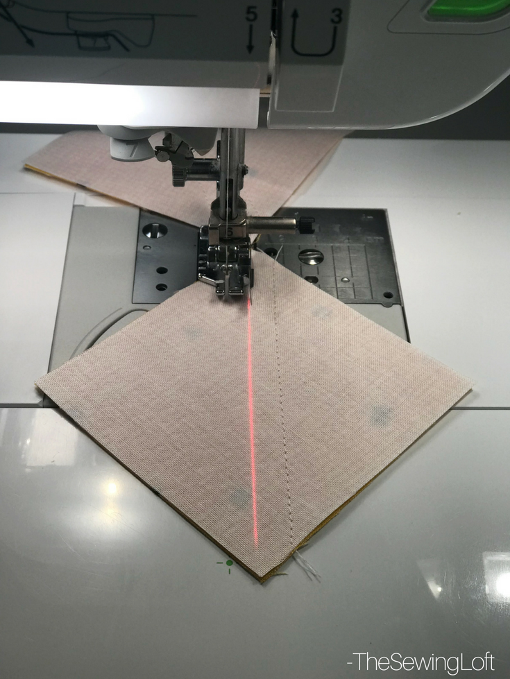 See how easy it is to use the laser guide beam when creating HST's.