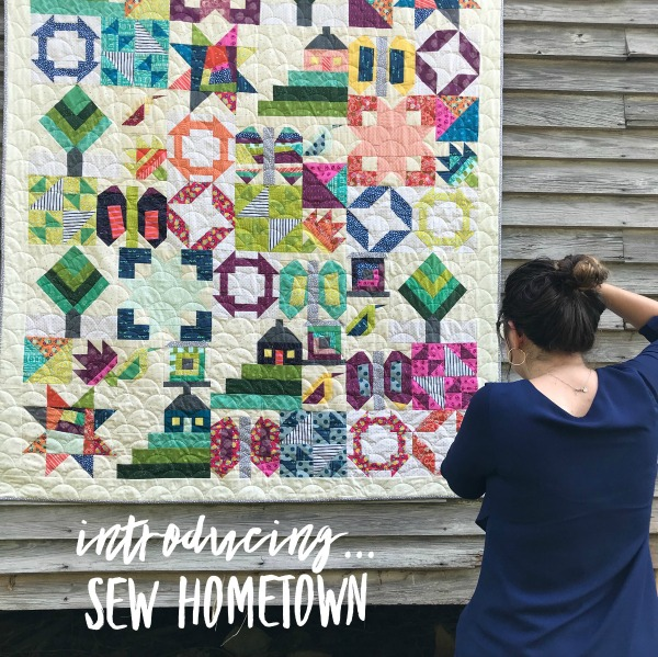 It's time to reveal the 2019 Calendar for Inspiring Stitches. The Sew Hometown quilt pattern is playful, fun to stitch and perfect for scraps.
