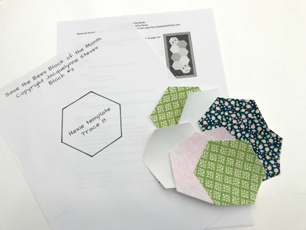 Brush up on your quilting skills while having fun with the whimsical Save the bees quilt block designs. Each block highlights applique details.