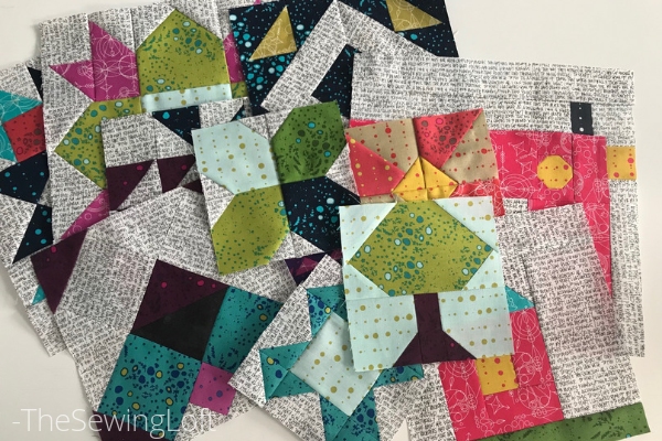 Take a look at these finished blocks from Heartland Heritage. I can't wait to get them all stitched up into a finished quilt top!