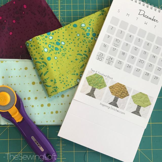 Tree Block Fabric Pull | Heartland Heritage