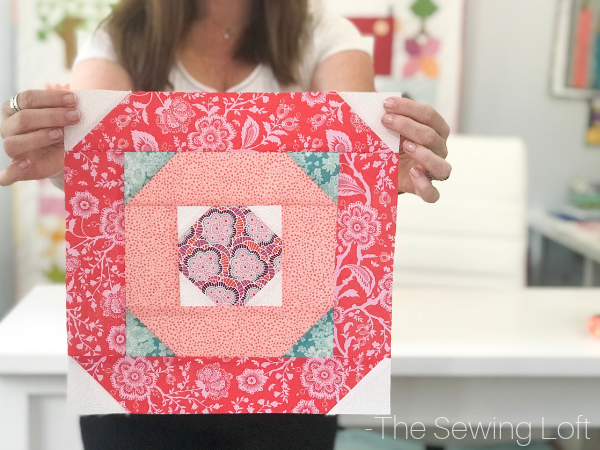 You can use all the scraps in your stash with simple designs like the Blushing Glory quilt block. This easy to make block is even a home run for beginners!