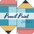 Pencil Point Quilt Block | The Sewing Loft