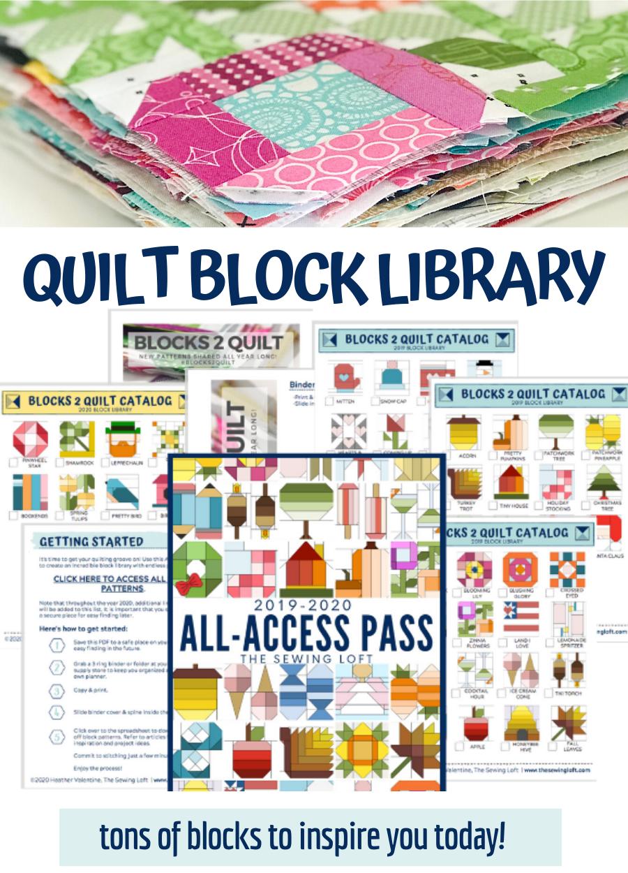 Blocks 2 Quilt All Access Pass   The Sewing Loft