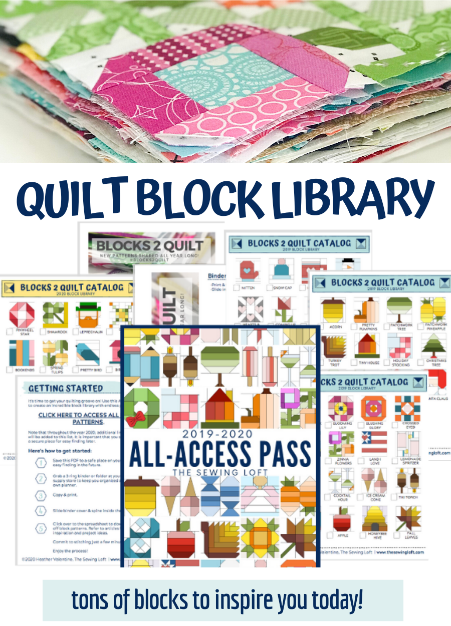 Blocks 2 Quilt All Access Pass | The Sewing Loft