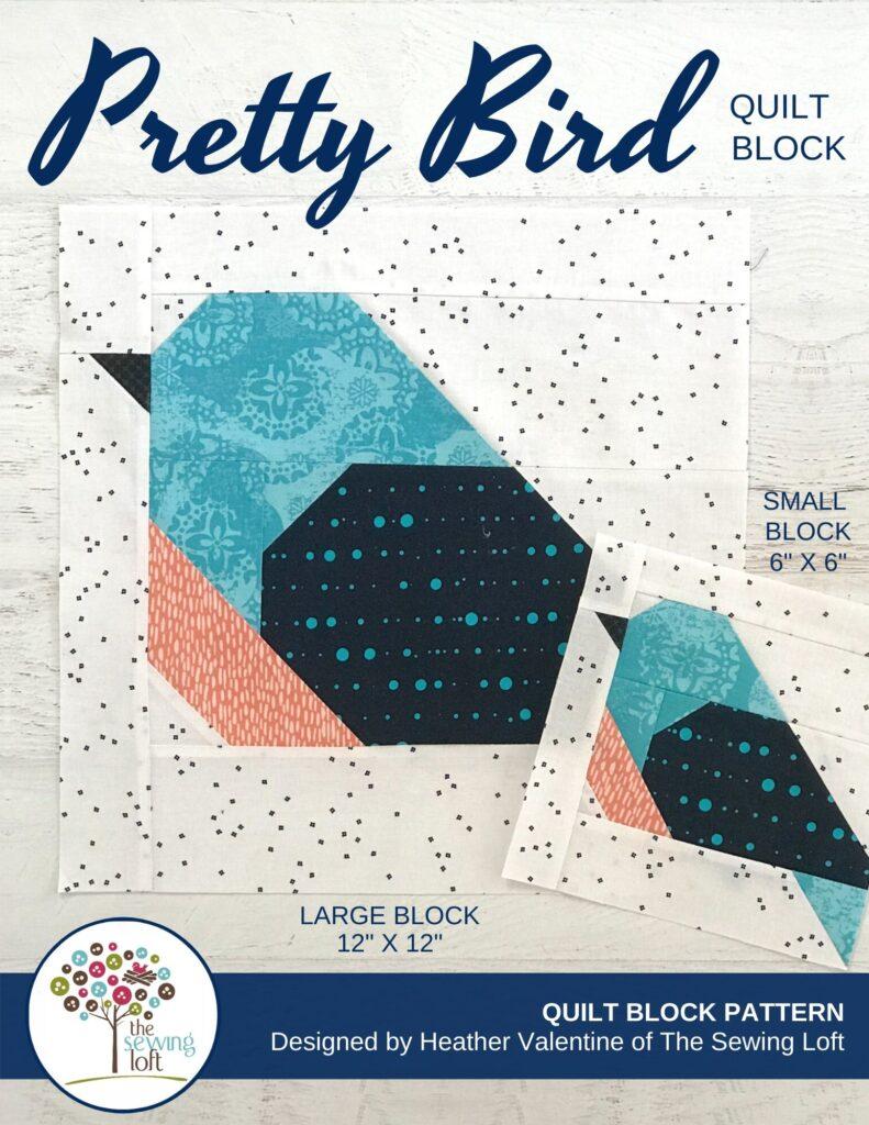 Pretty Bird Quilt Block | The Sewing Loft