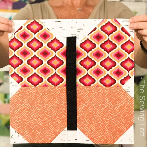 Butterfly Beauty Quilt Block | The Sewing Loft
