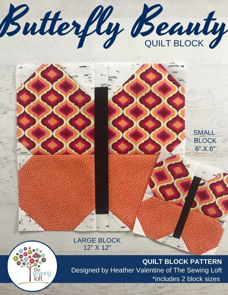 Butterfly Beauty Quilt Block Pattern