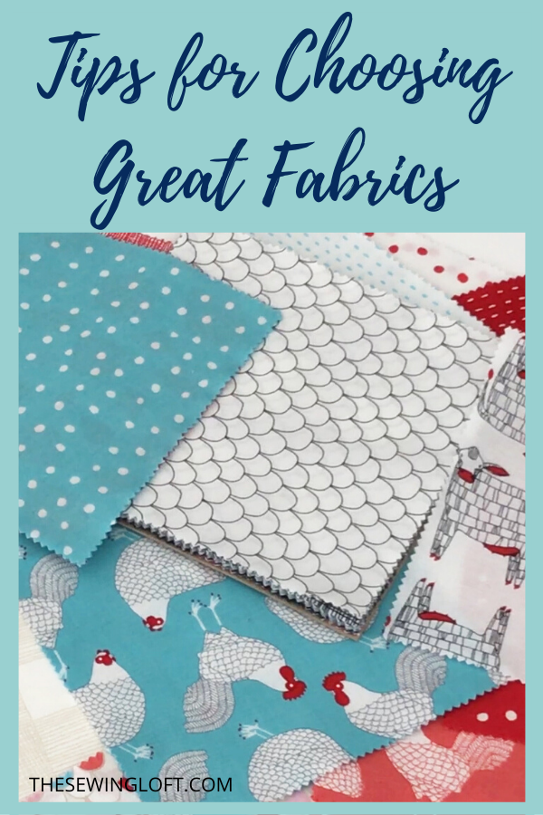 5 Tips for Picking Perfect Fabrics for your sewing Project