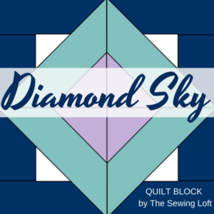 Diamond Sky Quilt Block Pattern | The Sewing Loft