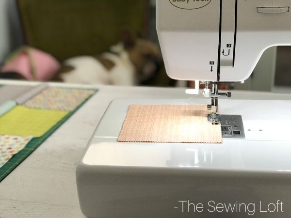 Sewing the On Point Patchwork Pillow is easy and quick. See free pattern and sew along.