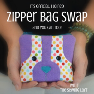 It's time for another SWAP. Sign up today to be teamed up with your perfect partner and receive tons of helpful hints and inspiration. Zipper Bag SWAP 2020 Edition with The Sewing Loft
